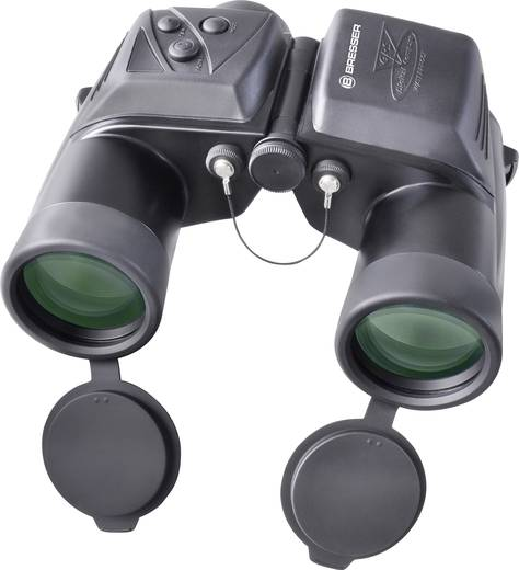 Marine-Fernglas Bresser Optik GPS 7 x 50 mm Schwarz