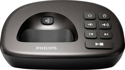 Philips XL4951DS/38 Schnurloses Seniorentelefon Anrufbeantworter, Freisprechen Beleuchtetes Display Anthrazit