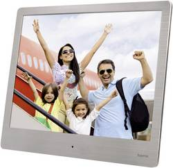 digitaler bilderrahmen 97slb hama 24 6 cm 9 7 zoll 1024 x 768 pixel edelstahl geb rstet kaufen. Black Bedroom Furniture Sets. Home Design Ideas