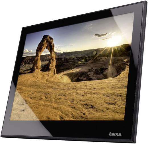 digitaler bilderrahmen 8slp hama 20 3 cm 8 zoll 1024 x 768 pixel schwarz kaufen. Black Bedroom Furniture Sets. Home Design Ideas