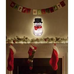 LED dekorácie do okna Polarlite LDE-52-006, na batérie, snehuliak