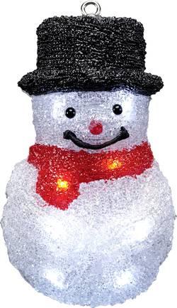 LED dekorace do okna Polarlite LDE-52-006, na baterie, sněhulák