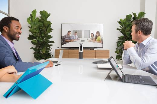 Logitech ConferenceCam Connect Full HD-Webcam 1920 x 1080 Pixel Standfuß