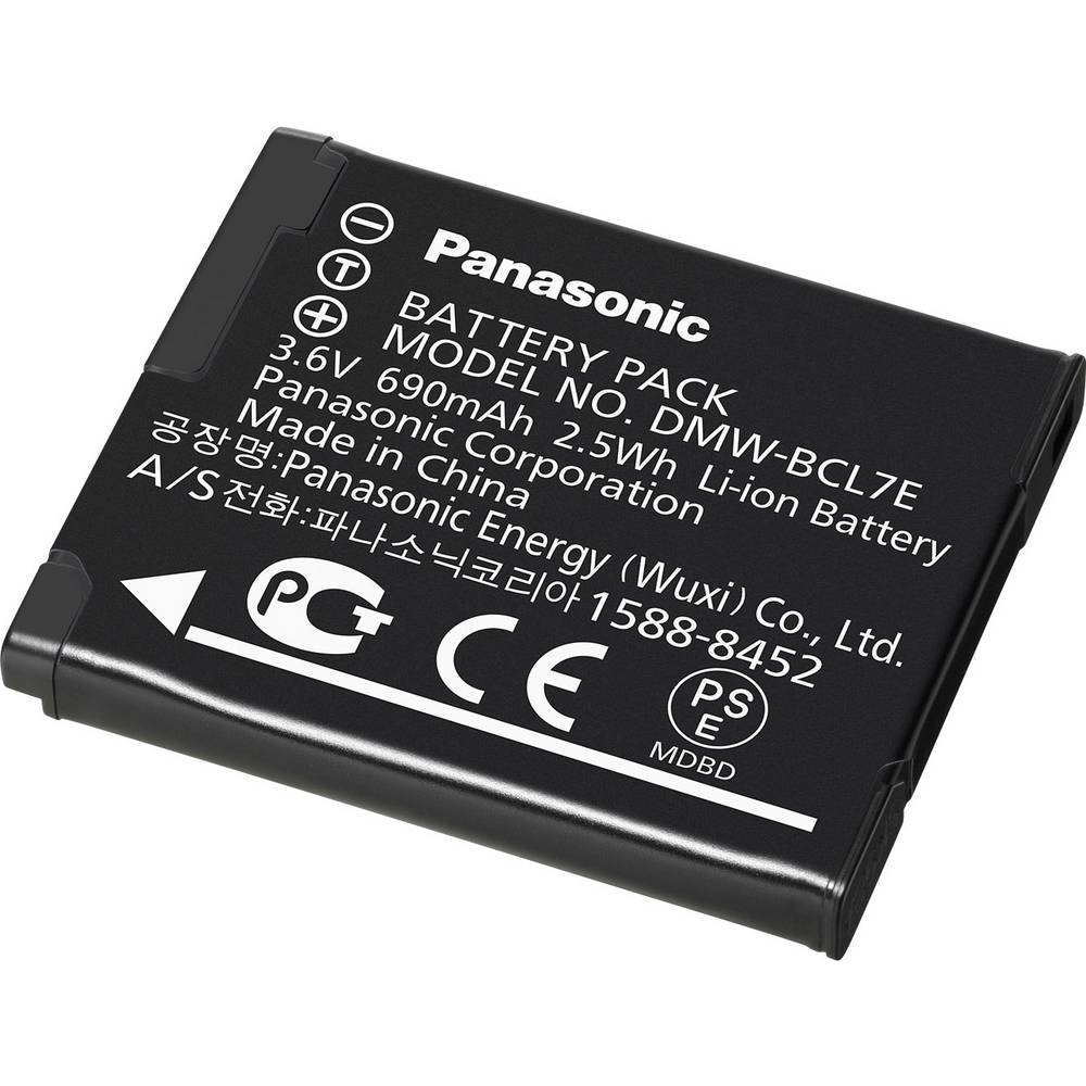 Camera-accu Panasonic DMW-BCL7E 3.6 V 680 mAh DMW-BCL7E