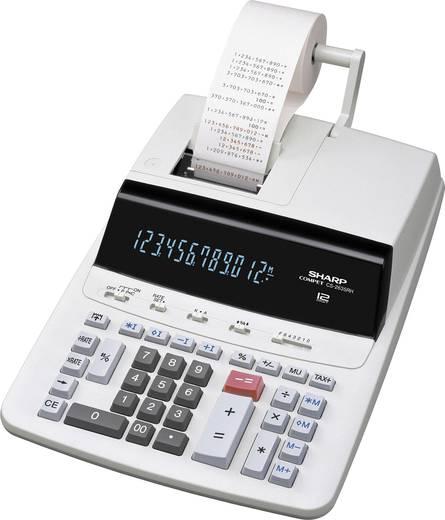 Druckender Tischrechner Sharp CS-2635 RHGY Grau Display (Stellen): 12 netzbetrieben (B x H x T) 250 x 87 x 345 mm
