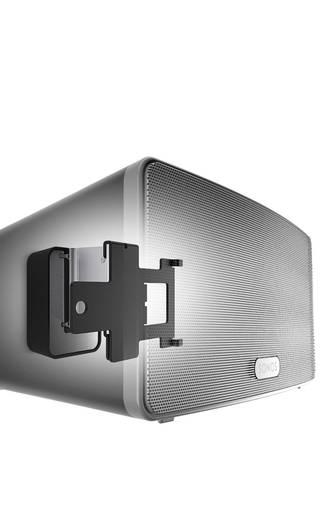 lautsprecher wandhalterung vogel s sound 4203 schwarz passend f r sonos 3 kaufen. Black Bedroom Furniture Sets. Home Design Ideas