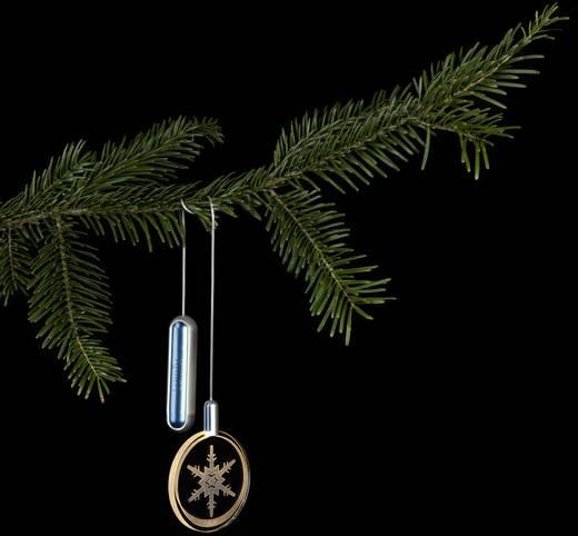 weihnachtsbaum dekoration schneeflocke gl ckchen. Black Bedroom Furniture Sets. Home Design Ideas