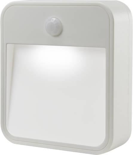 LED-Nachtlicht mit Bewegungsmelder Rechteckig LED Kalt-Weiß Renkforce 1360995 Weiß