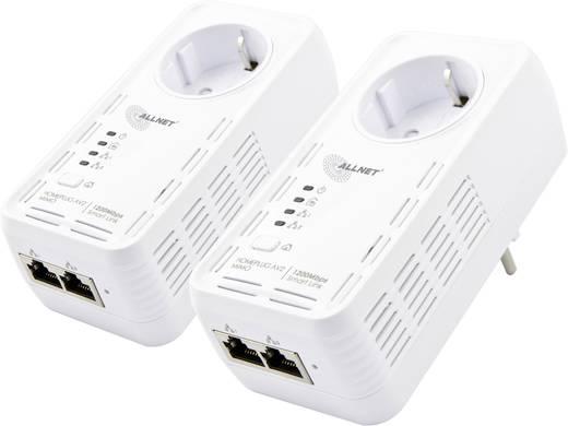 Allnet ALL1681205DOUBLE Powerline Starter Kit 1.2 Gbit/s