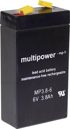 multipower mp3 8 6 a96325 bleiakku 6 v 3 8 ah blei vlies. Black Bedroom Furniture Sets. Home Design Ideas