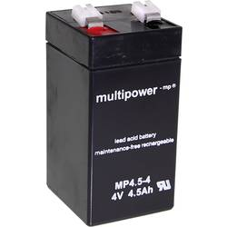 Olovený akumulátor multipower MP4,5-4 A960445 , 4.5 Ah, 4 V