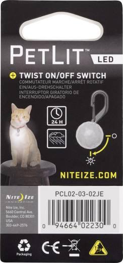 LED Halsbandlicht NITE Ize PetLit LED Weiß, Schwarz 1 St.