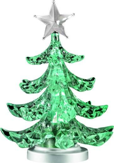 Polarlite LDE-01-001 LED-Tischdeko Weihnachtsbaum RGB LED Transparent