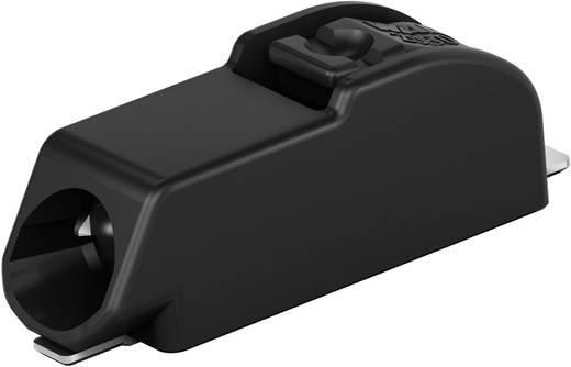 WAGO Federkraftklemmblock 0.75 mm² Polzahl 1 Schwarz 1 St.