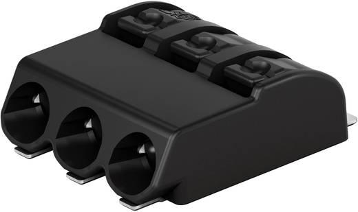 Federkraftklemmblock 0.75 mm² Polzahl 3 2060-473/998-404 WAGO Schwarz 750 St.