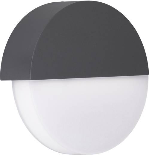 WOFI SOHO 4707.01.50.0000 LED-Außenwandleuchte 6.5 W Warm-Weiß Grau