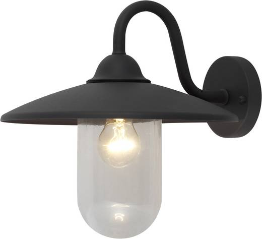 Außenwandleuchte Energiesparlampe, LED E27 60 W ACTION QUEENS 476601880000 Anthrazit