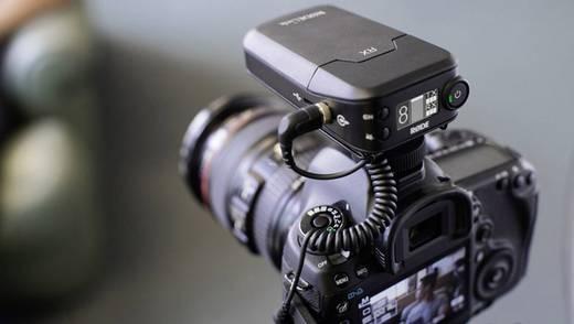Kamera-Mikrofon RODE Microphones Link Filmmaker Übertragungsart:Kabellos Blitzschuh-Montage