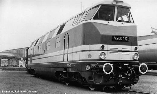 Piko H0 52572 H0 Diesellok V 200 GFK der DR