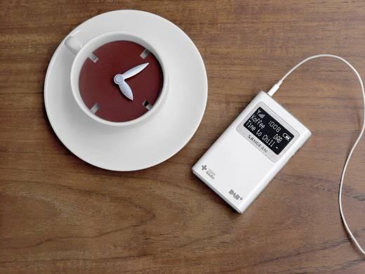 Sangean DPR-39 DAB+ Taschenradio DAB+, UKW Weiß