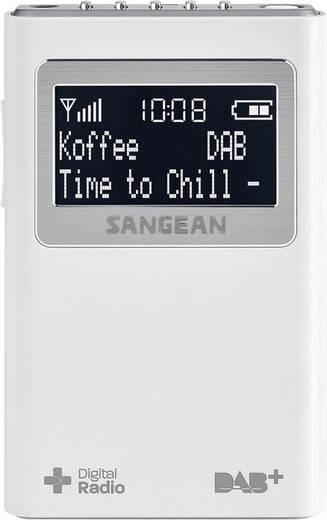 DAB+ Taschenradio Sangean DPR-39 DAB+, UKW Weiß