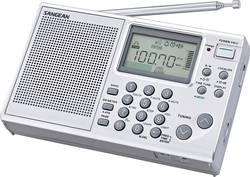 Světový radiopřijímač Sangean ATS-405 Package, KV, SV, FM, s USB nabíječkou, stříbrná