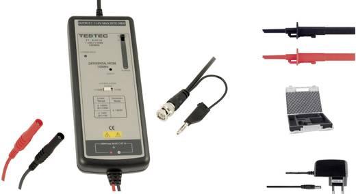Differential-Tastkopf 100 MHz Kalibriert nach DAkkS 10:1, 100:1 1400 V Testec TT-SI 9101