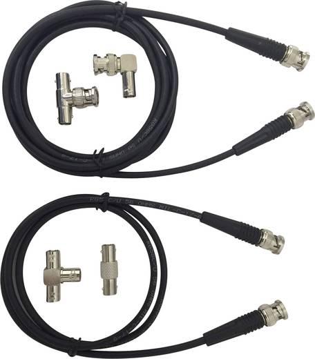 BNC-Messleitungs-Set 1 m Schwarz Testec TT-SET 1200