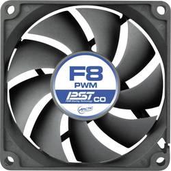 Image of Arctic F8 PWM PST CO PC-Gehäuse-Lüfter Schwarz (B x H x T) 80 x 80 x 25 mm