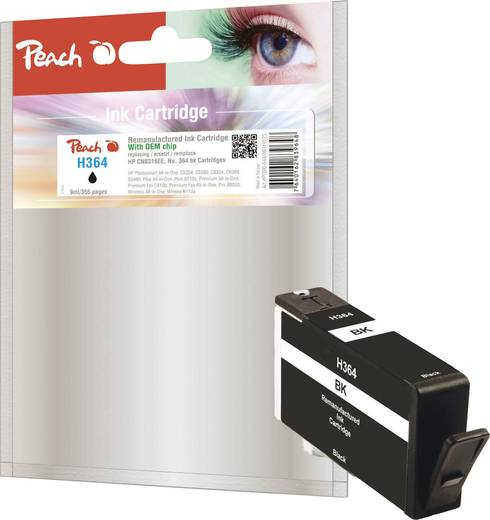 peach tinte hp 364 364xl schwarz pi300 544 0f319123 kaufen. Black Bedroom Furniture Sets. Home Design Ideas