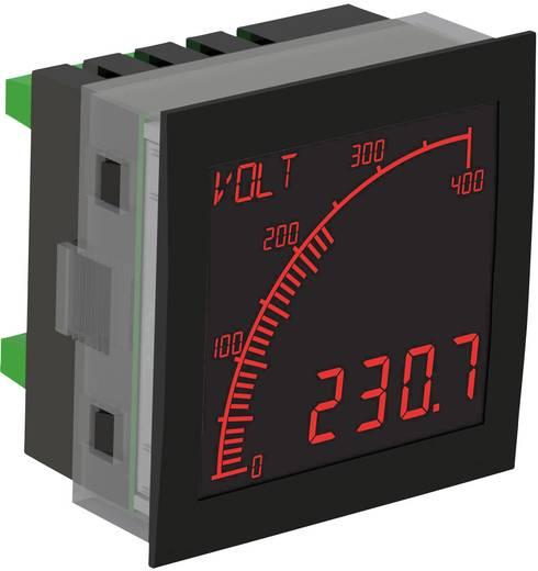Digitales Einbaumessgerät Trumeter APM-PROC-ANO APM Prozessmessgerät, Negativ-LCD Einbaumaße 68 mm x 68 mm