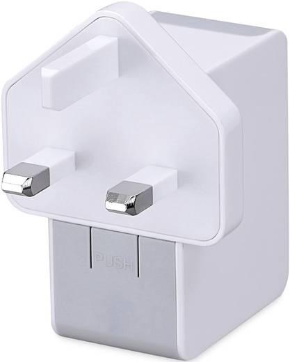usb ladeger t ednet 31808 31808 steckdose ausgangsstrom max 2500 ma 2 x usb mit usa adapter. Black Bedroom Furniture Sets. Home Design Ideas