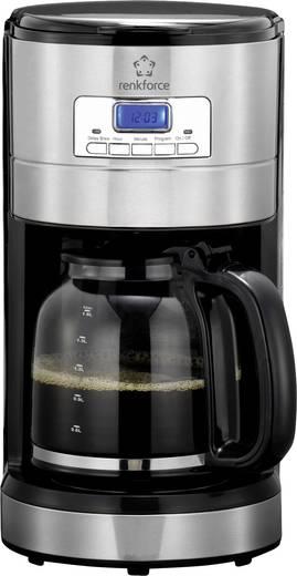 kaffeemaschine renkforce cm4276 v edelstahl geb rstet schwarz fassungsverm gen tassen 10. Black Bedroom Furniture Sets. Home Design Ideas