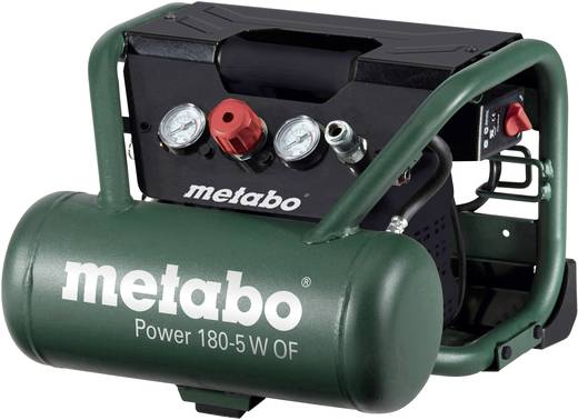 Metabo Power 180-5 W OF Druckluft-Kompressor 5 l 8 bar