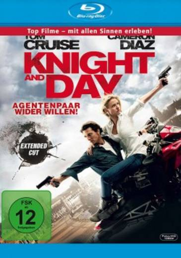 blu-ray Knight and Day Agentenpaar wider Willen FSK: 12