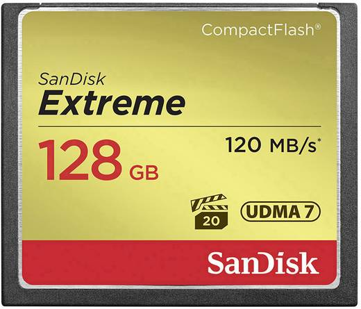 CF-Karte 128 GB SanDisk Extreme®