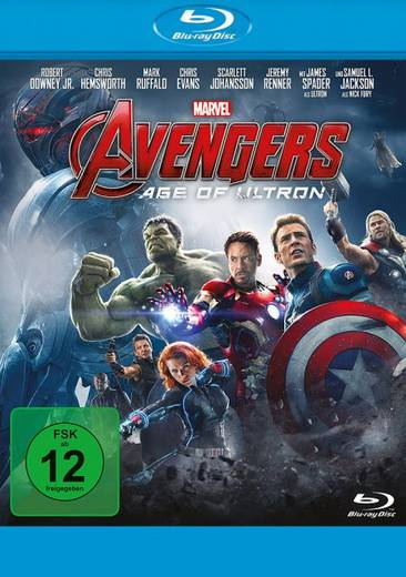 blu-ray Avengers Age of Ultron FSK: 12