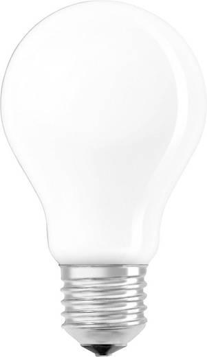OSRAM LED EEK A++ (A++ - E) E27 Glühlampenform 6.5 W = 60 W Warmweiß (Ø x L) 60 mm x 105 mm dimmbar, Filament 1 St.
