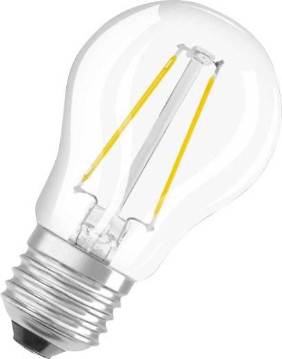 OSRAM LED EEK A++ (A++ - E) E27 Tropfenform 2.8 W = 25 W Warmweiß (Ø x L) 45 mm x 77 mm Filament 1 St.