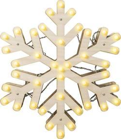 LED dekorace na stůl Polarlite LDE-04-005, do sítě, sněhová vločka