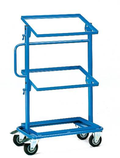 Fetra 32910 Etagenwagen Stahl pulverbeschichtet Traglast (max.): 200 kg Brillantblau (RAL 5007)