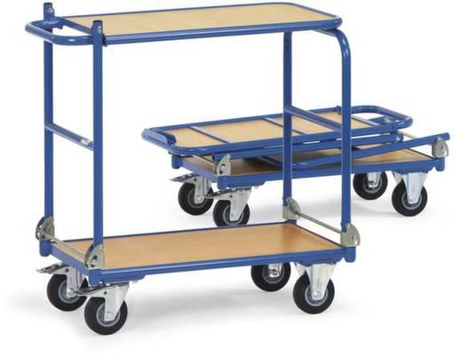 Tischwagen klappbar Stahl pulverbeschichtet Traglast (max.): 250 kg Brillantblau (RAL 5007) Fetra 1141