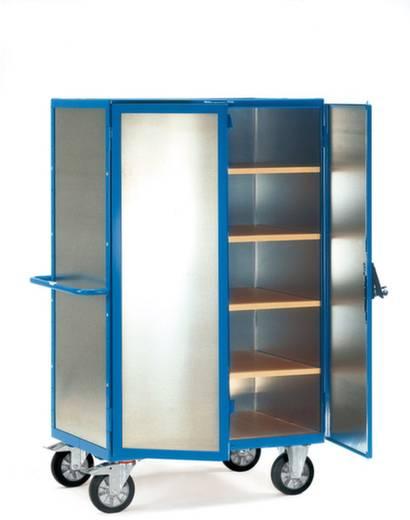 Schrankwagen Aluminium pulverbeschichtet Traglast (max.): 750 kg Brillantblau (RAL 5007) Fetra 5592
