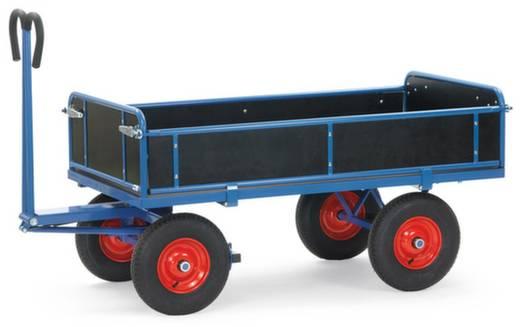 Handpritschenwagen Stahl pulverbeschichtet Traglast (max.): 700 kg Fetra 6453V