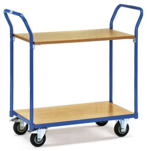 Etagenwagen Stahl pulverbeschichtet Traglast (max.): 200 kg Brillantblau (RAL 5007) Fetra 1602