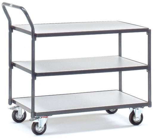 ESD-Tischwagen Stahl Traglast (max.): 250 kg Schiefergrau (RAL 7015) Fetra 1851