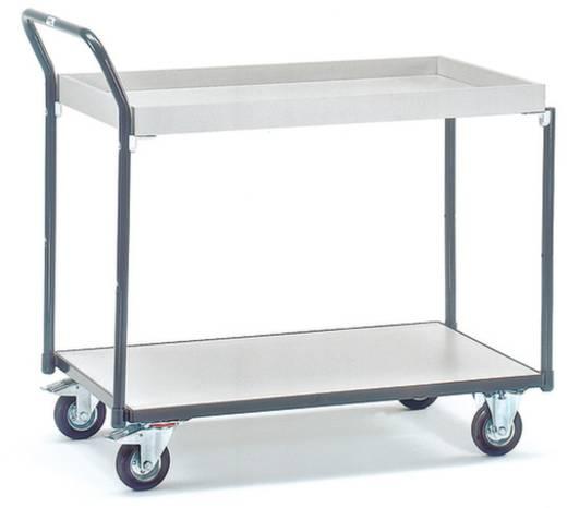 Fetra 1861 ESD-Tischwagen Stahl Traglast (max.): 250 kg Schiefergrau (RAL 7015)