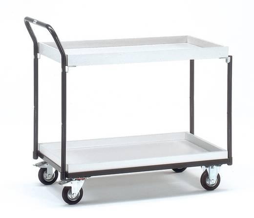 ESD-Tischwagen Stahl Traglast (max.): 250 kg Schiefergrau (RAL 7015) Fetra 1871