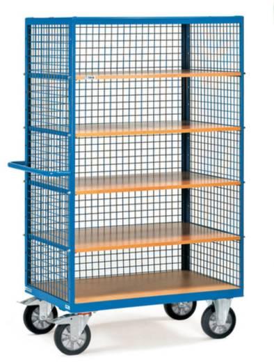 Schrankwagen Stahl pulverbeschichtet Traglast (max.): 750 kg Brillantblau (RAL 5007) Fetra 3393