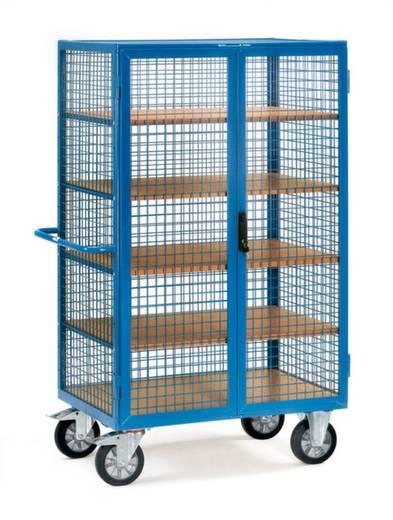 Schrankwagen Stahl pulverbeschichtet Traglast (max.): 750 kg Brillantblau (RAL 5007) Fetra 5393